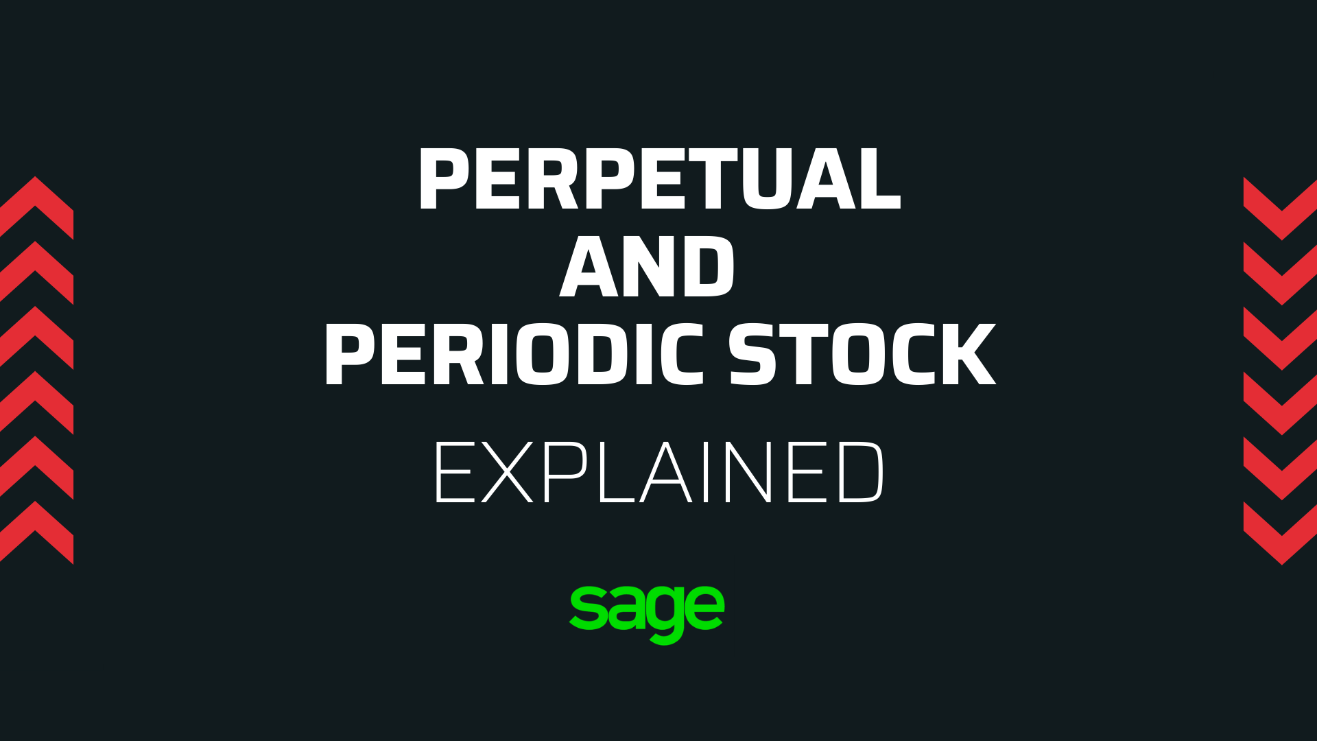 Perpetual and Periodic Stock
